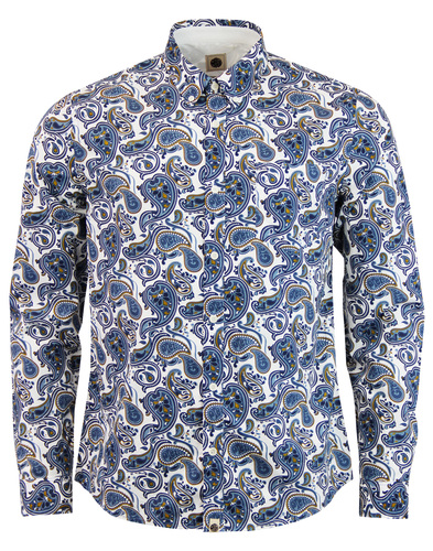 Kingly PRETTY GREEN Mod Signature Paisley Shirt
