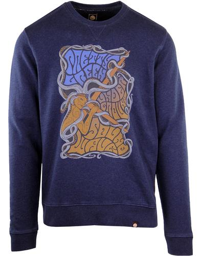 PRETTY GREEN 1960's Psychedelic Poster Sweater