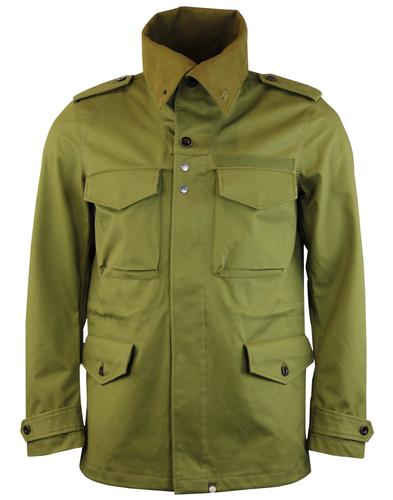 Roeburn PRETTY GREEN Mod Funnel Neck Field Jacket