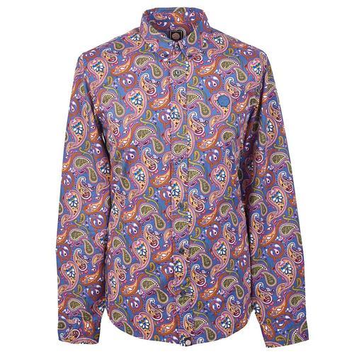 c79e29aa324ab Paisley Shirts, Polka Dot Shirts, Mod Floral Shirts, Retro Prints