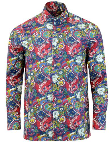 PRETTY GREEN x THE BEATLES Walrus Mod Kaftan Shirt
