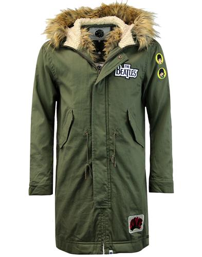 PRETTY GREEN x THE BEATLES Mod Good Morning Parka