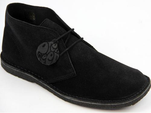 PRETTY GREEN Suede Crepe Sole Mod Desert Boots B