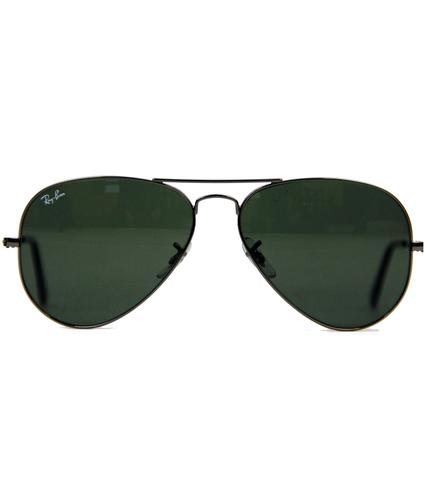 Ray-Ban Retro 60s Mod Aviator Indie Sunglasses GM