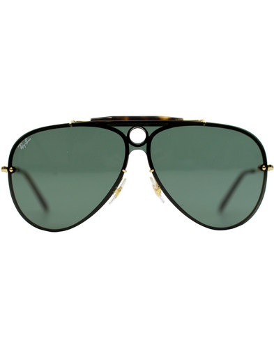 Blaze Shooter RAY-BAN Retro 70s Aviator Sunglasses