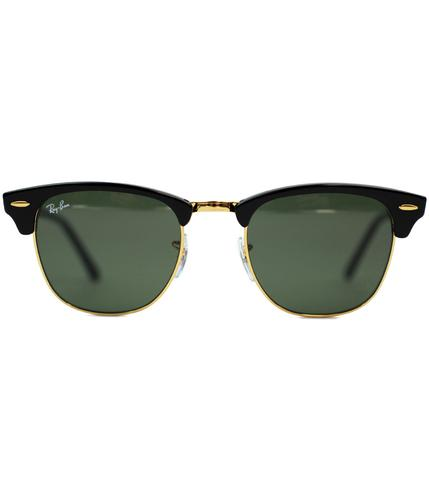Clubmaster RAY-BAN Icons Retro Mod 60s Sunglasses