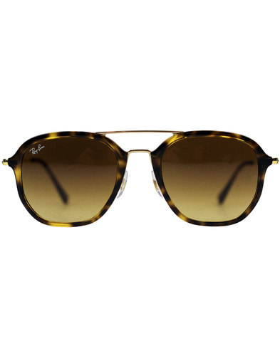 RAY-BAN Crossbar Squared Retro Aviator Sunglasses