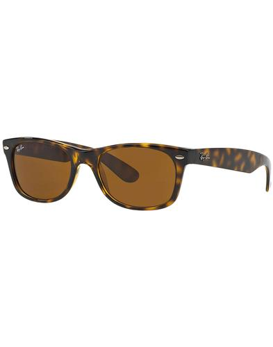 New Wayfarer RAY-BAN Mod Tortoise Brown Sunglasses