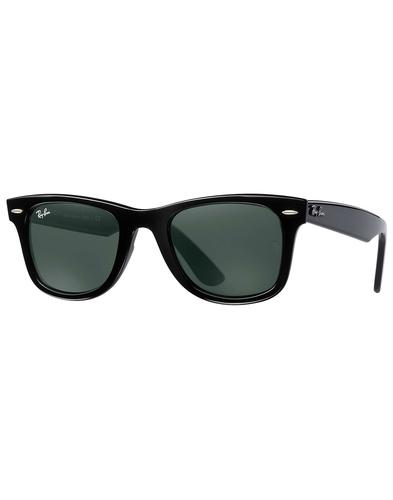 Wayfarer Ease RAY-BAN Retro Mod Sunglasses - Black