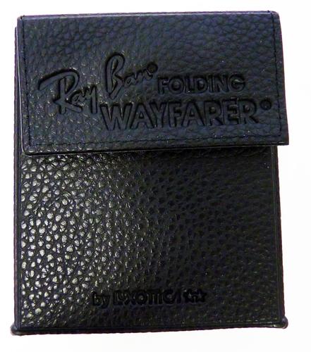 Ray-Ban 75th Anniversary Folding Wayfarers (Blk)
