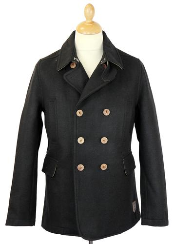 Peacoat REALM & EMPIRE Retro Mod Melton Jacket (B)