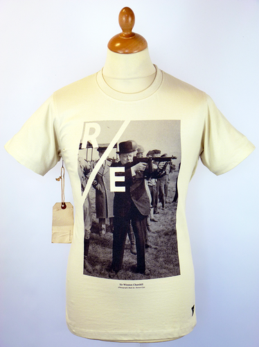 Tommy Gun REALM & EMPIRE Churchill WWII Tee (TD)