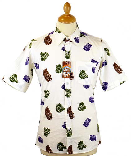 'Magnum' Retro 70s Indie Camera Hawaiian Shirt