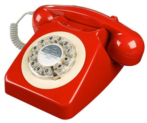 746 Retro Sixties Mod British Retro Telephone PBR
