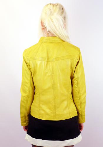 Casino MADCAP ENGLAND Retro 70s Leather Jacket Y