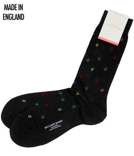 + Cardon RICHARD JAMES Retro Cactus Socks (SB)
