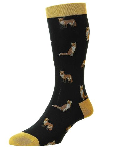 + Farnley Foxes SCOTT-NICHOL Retro Mens Socks