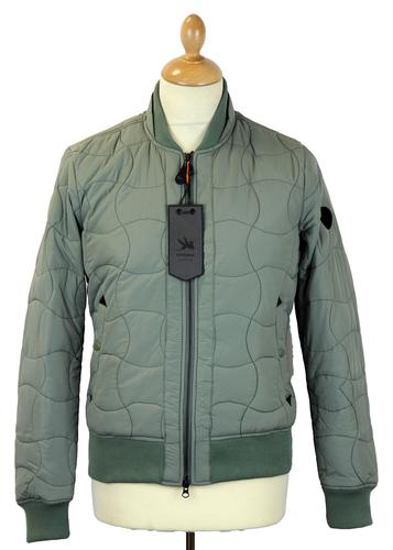 SPIEWAK Mod Onion Quilted MA1 Bomber Jacket (S)