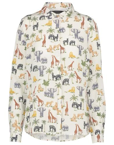 Blair SUGARHILL BOUTIQUE Retro Wild Animal Shirt