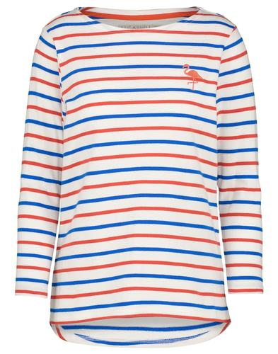 Brighton Flamingo SUGARHILL BOUTIQUE Breton Top