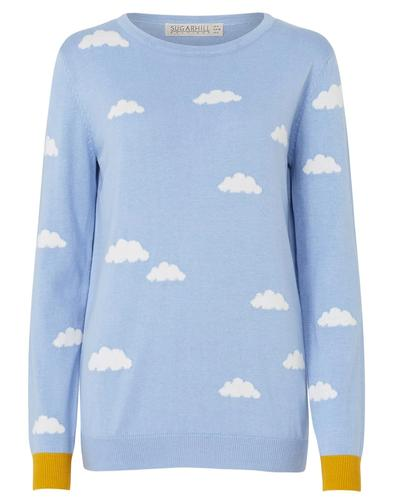 Rita SUGARHILL BOUTIQUE Retro Clouds Knit Jumper