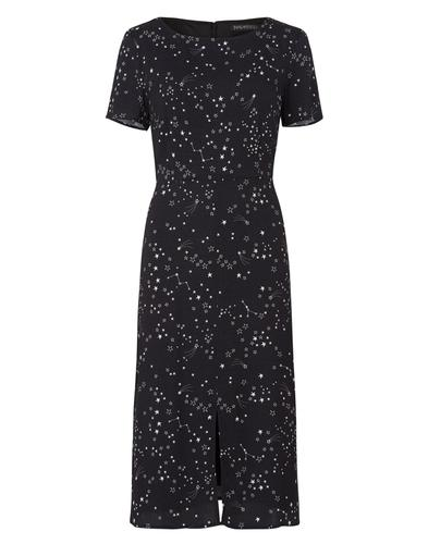 Cassie SUGARHILL BOUTIQUE Retro Starry Sky Dress