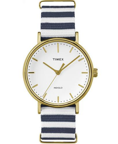 Weekender TIMEX Horizontal Stripe Slip Thru Watch