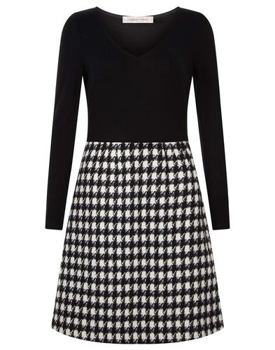 Double Take TRAFFIC PEOPLE Retro 60s Mod Dress