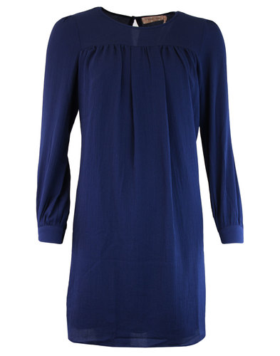 Little Secret TRAFFIC PEOPLE Retro 60s Dress Navy