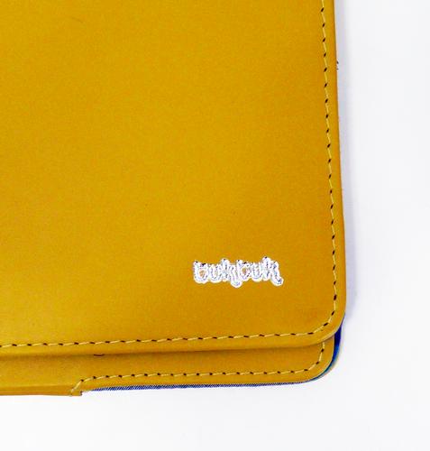 TukTuk Retro Indie iPad 2/3 Yellow Leather Cover