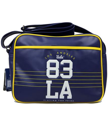 Trevor UCLA Retro 80s Indie Varsity Shoulder Bag B