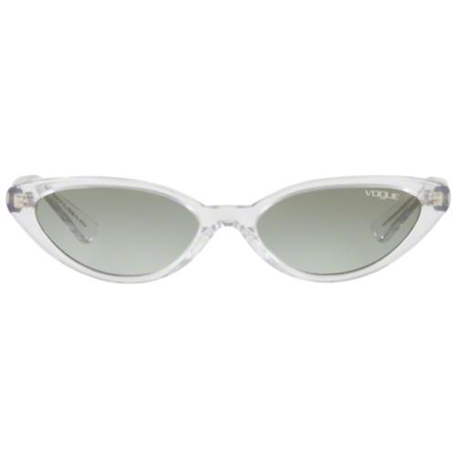 e9ddfc475894 Gigi Hadid x Vogue Retro 50s Small Catseye Sunglasses Transparent