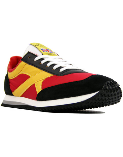 Tornado WALSH Made In England Retro Trainers RED