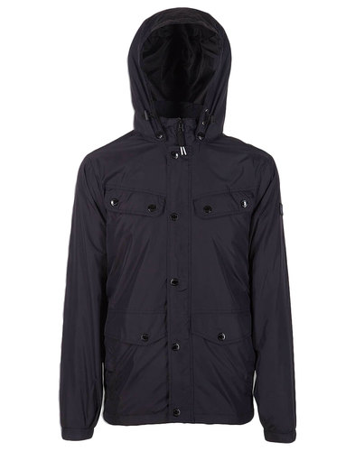 Kamikaze WEEKEND OFFENDER Mod Terraces Parka Black