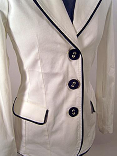'Tux Jacket' - Womens Retro Mod Jacket (W)