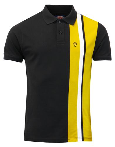wigan casino polo black mod