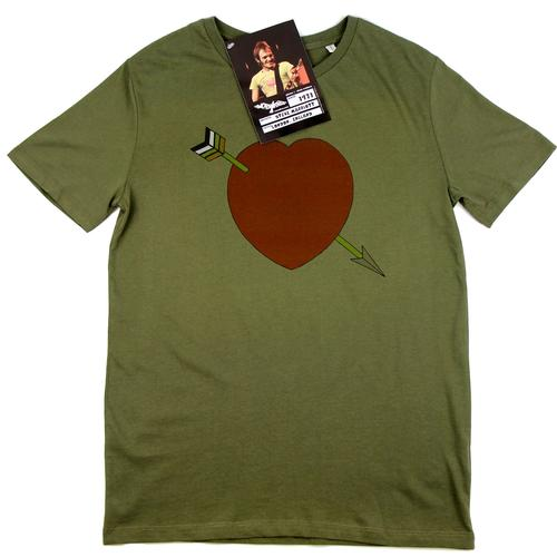 WORN FREE Steve Marriott Broken Heart Retro Tee