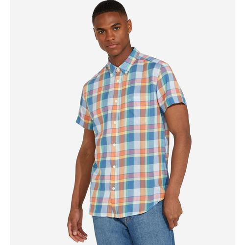 22290adde Mens Short Sleeve Summer Shirts, Mod Gingham Shirts