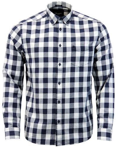 WRANGLER Retro Indie Button Down Gingham Shirt (N)