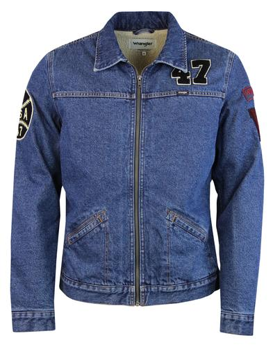 Hawkins WRANGLER Ivy League Sherpa Denim Jacket